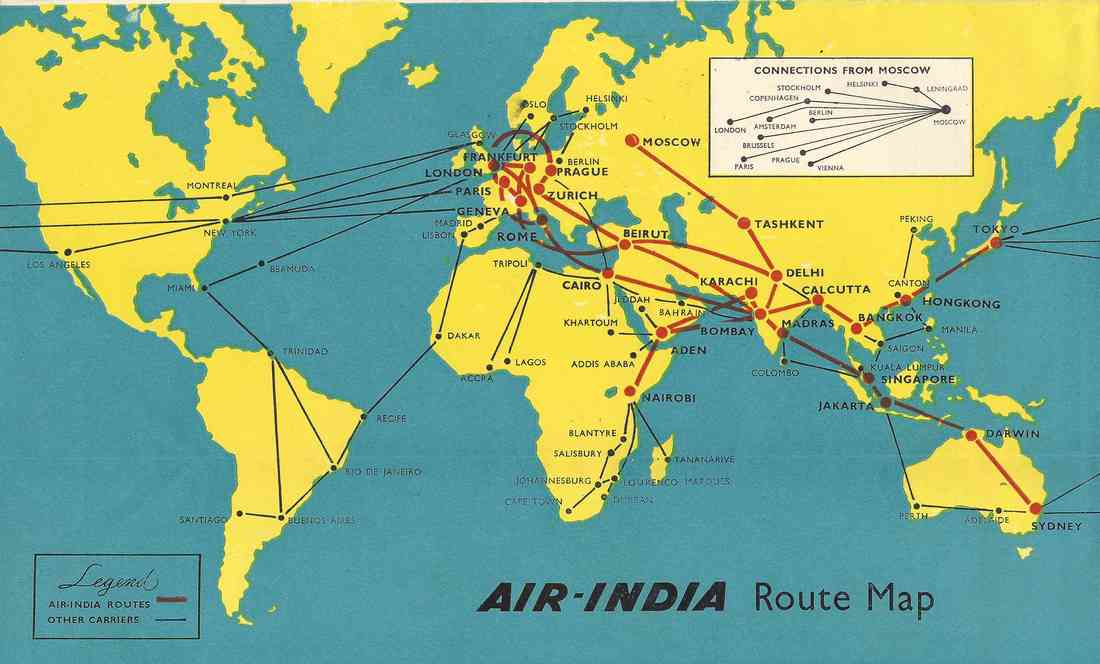 Air-India Route Evaluation II - Air-India Collector