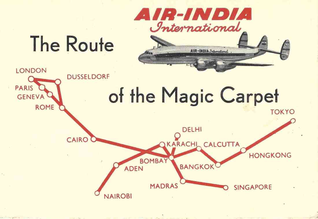AI Bombay to Singapore - Air-India Collector
